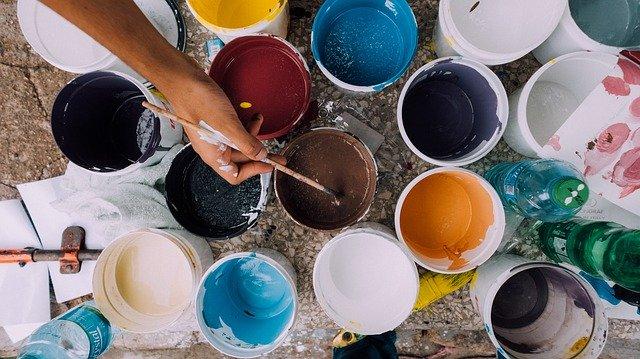 Über das farbenfrohe Malen mit Alkoholtinte
